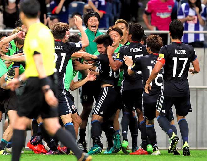 日本-イラク W杯アジア最終予選