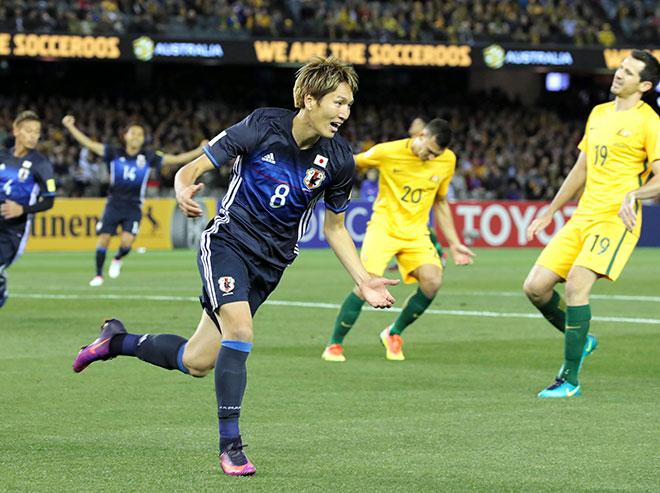 日本-オーストラリア W杯アジア最終予選-
