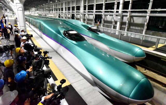 訓練運転が始まっている北海道新幹線