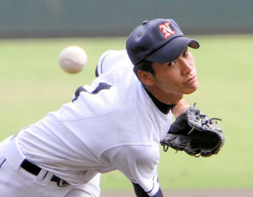 写真:武田翔太投手=7月17日、サンマリンスタジアム宮崎