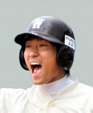 写真:土生翔平外野手