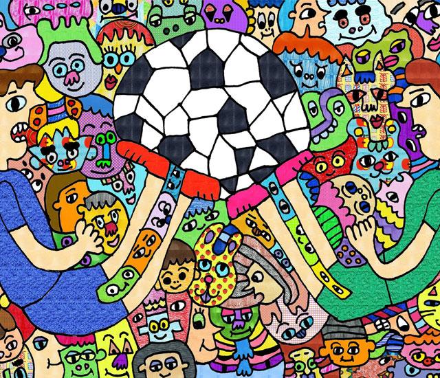 スポーツ界で障がい者アートを応援するプロジェクト。ご支援者のお名前を掲載しています