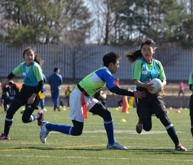 決勝大会は2月17、18日 サントリーカップ全国小学生タグラグビー選手権大会