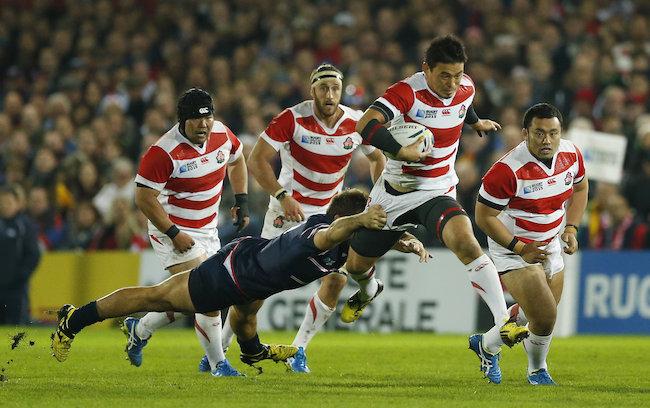 ラグビー日本代表VS米国代表