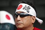 日本のサポーター=ロイター