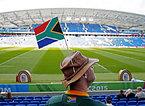 南アフリカのサポーター=ロイター