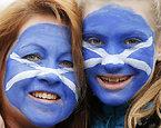 スコットランドのサポーター=ロイター