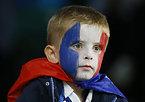 子どものフランスサポーター=AP