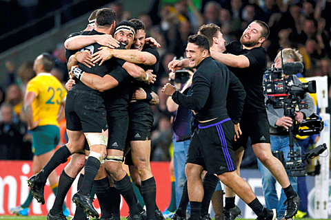 ニュージーランドが史上初の大会2連覇=ロイター