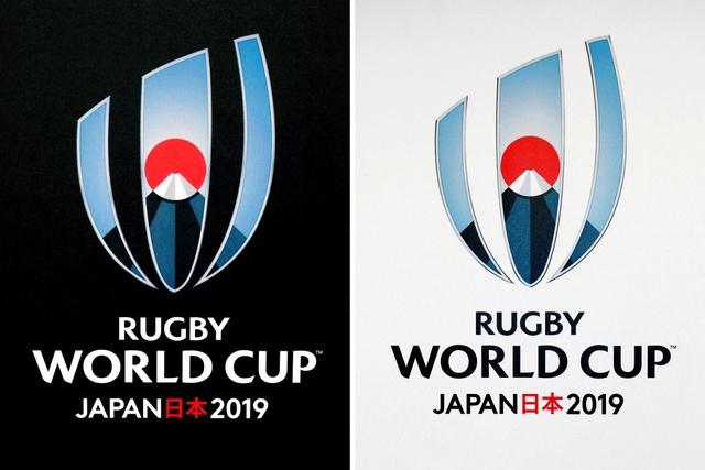 ラグビーW杯日本大会のロゴ決定 富士山からの朝日表現