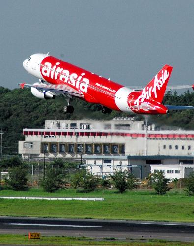 写真:エアアジア・ジャパン機