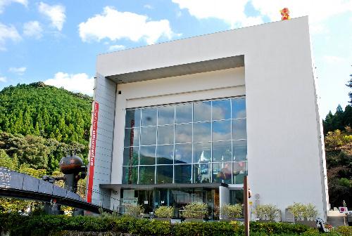 写真:アンパンマンミュージアムの外観