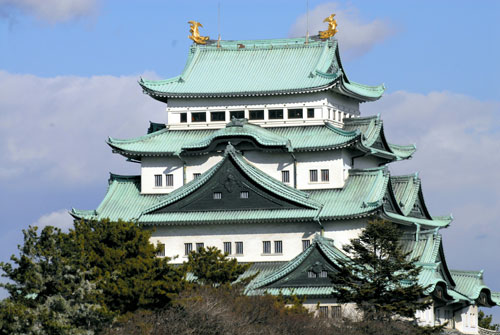 写真:現在の名古屋城