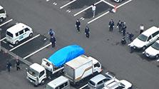 小学生の列に車、8人けが 運転の60代男聴取へ 岐阜