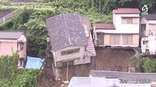 鹿児島県内で猛烈な雨 意識不明だった女性死亡