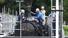 「動くSL」展示できるかな 名古屋市科学館が解体調査