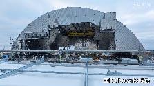 チェルノブイリ原発に新ドーム 石棺ごと100年密封
