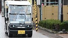 ゴルフ場カートを改造、公道で「自動運転」 石川・輪島