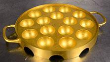 純金3キロ使用のたこ焼き器 驚愕のお値段は…