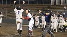 甲子園「奇跡のバックホーム」再戦 熊工が松山商に雪辱
