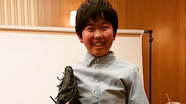 プロ野球、最高でーす! 野球少年の鈴木福くんが熱弁