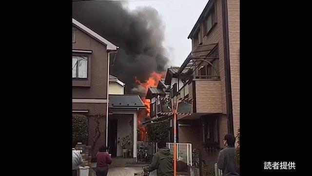 民家火災、住宅など7棟燃える 東京・府中