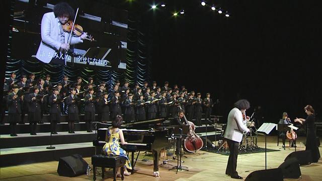 復興支援音楽祭、福島・郡山で開催 葉加瀬さんら演奏