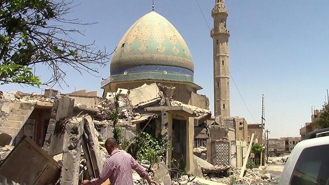【動画】「イスラム国」からの奪還作戦続くイラク・モスル=仙波理撮影