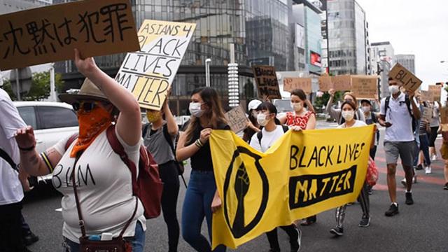 「人種差別反対」名古屋で300人がデモ、高校生が主催