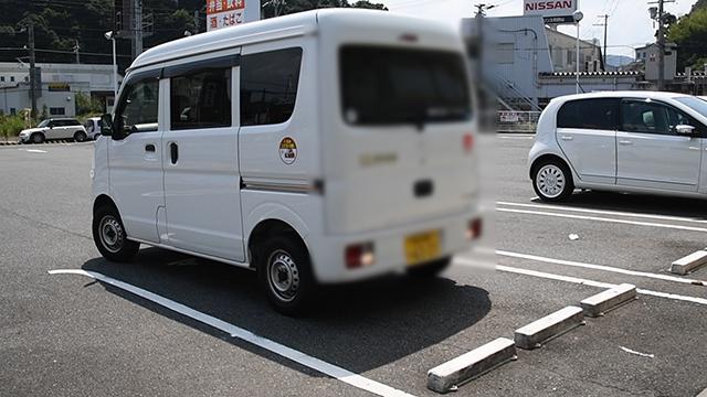 駐車はバックがお勧め きっかけは交通課長の「違和感」