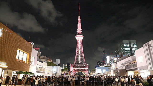 東京タワーの先輩、ゴジラで破壊…名古屋テレビ塔が新装