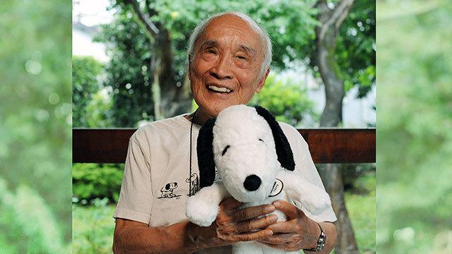 谷川俊太郎さん、PEANUTSの神髄は「人の悲しみ」