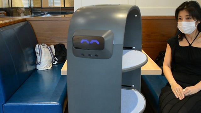 ロボットが届ける「新しい接客」 レストランも非対面で