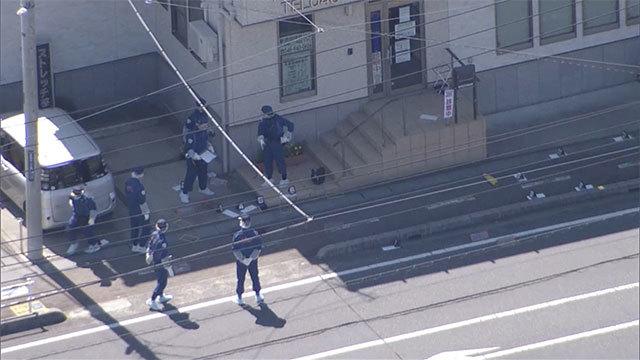 路上で刺され女性死亡、殺人未遂容疑で男逮捕 埼玉