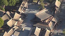 重要文化財の「楼門」など全壊 熊本・阿蘇神社