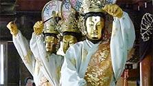 京都)金色の仏面、典雅に舞う 舞鶴・松尾寺