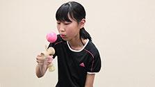 兵庫)けん玉日本一競う 伊丹の中1女子2人