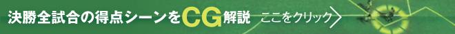 決勝トーナメント ゴールCGアニメーション