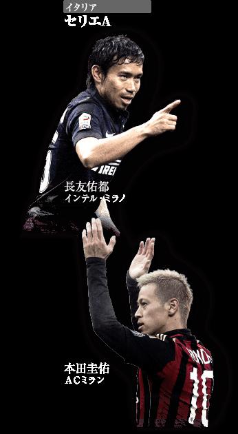 海外の日本選手 - セリエA