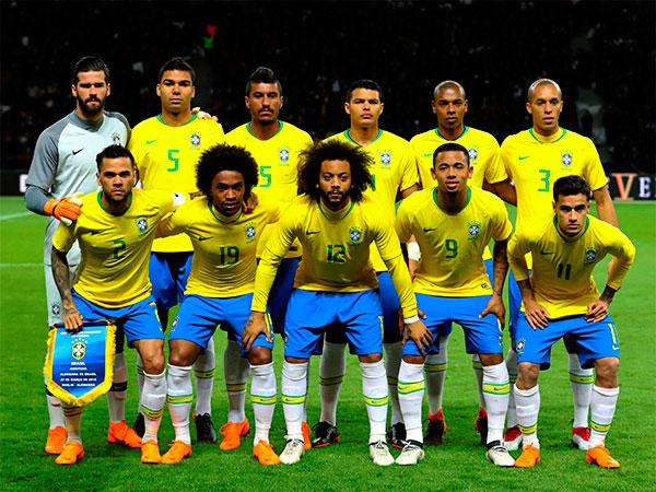 2018ワールドカップブラジル代表 試合日程・選手