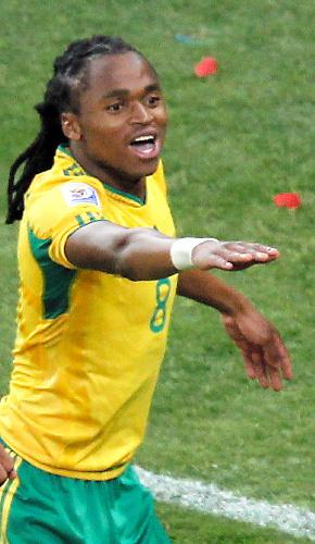 写真:南アフリカのチャバララ選手