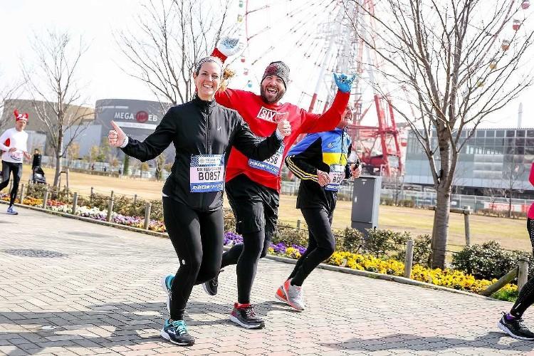 海外からのランナーとの交流を目的としたフレンドシップランが今年も行われる (写真提供:東京マラソン財団)