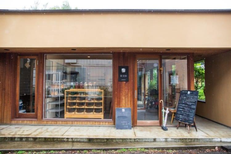 「畑のコウボパン タロー屋」は、店主の生まれた北浦和の住宅街に