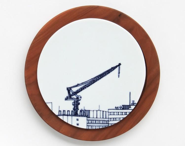 誰もが見過ごす風景を描く 熊本充子さんのマニアックな器