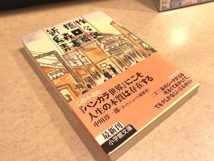 『新橋烏森口青春篇』のほか、『哀愁の町に霧が降るのだ』『銀座のカラス』を合わせて椎名誠の「青春三部作」と呼ばれている。学生時代から若手社員として活躍し、独立するまでが三作で描かれている