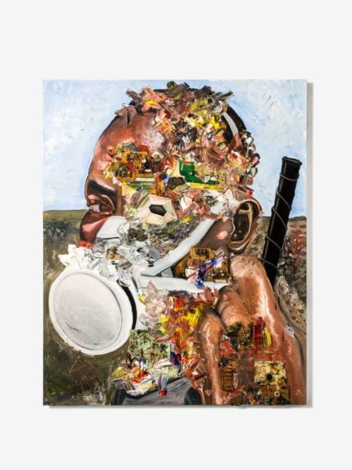 電子廃棄物でつくったアートを売り、ガーナにリサイクル工場を建てる アーティスト・長坂真護の挑戦
