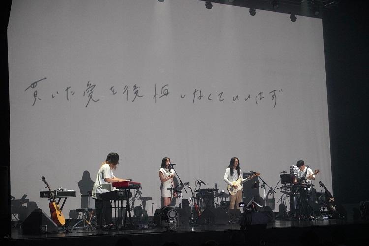 Zepp Tokyoでおこなれたワンマンライブ『和田彩花 2020 延期の延期の延期』