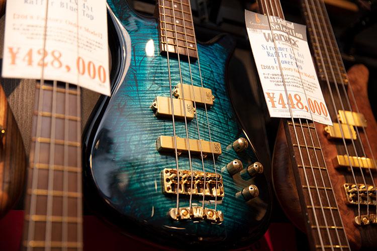 付けられた値段にドキッとすることも多い楽器の世界だが……