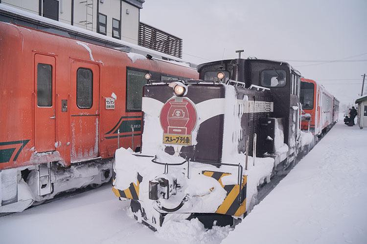 津軽鉄道のストーブ列車