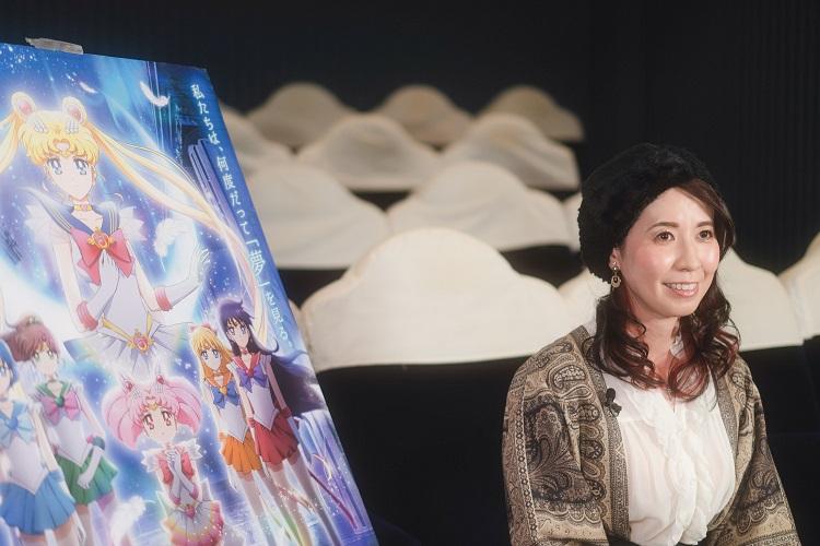 三石琴乃「うさぎは私の背中を押してくれる存在」劇場版『美少女戦士セーラームーンEternal』
